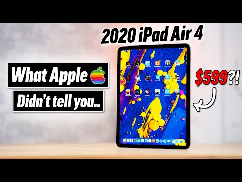 Is Apple's New IPad Air 4 ACTUALLY Worth $600?! 🤔
