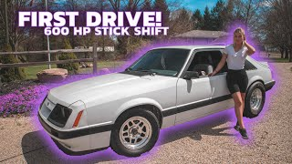 First Drive with my 410 SBF / TKO Foxbody!