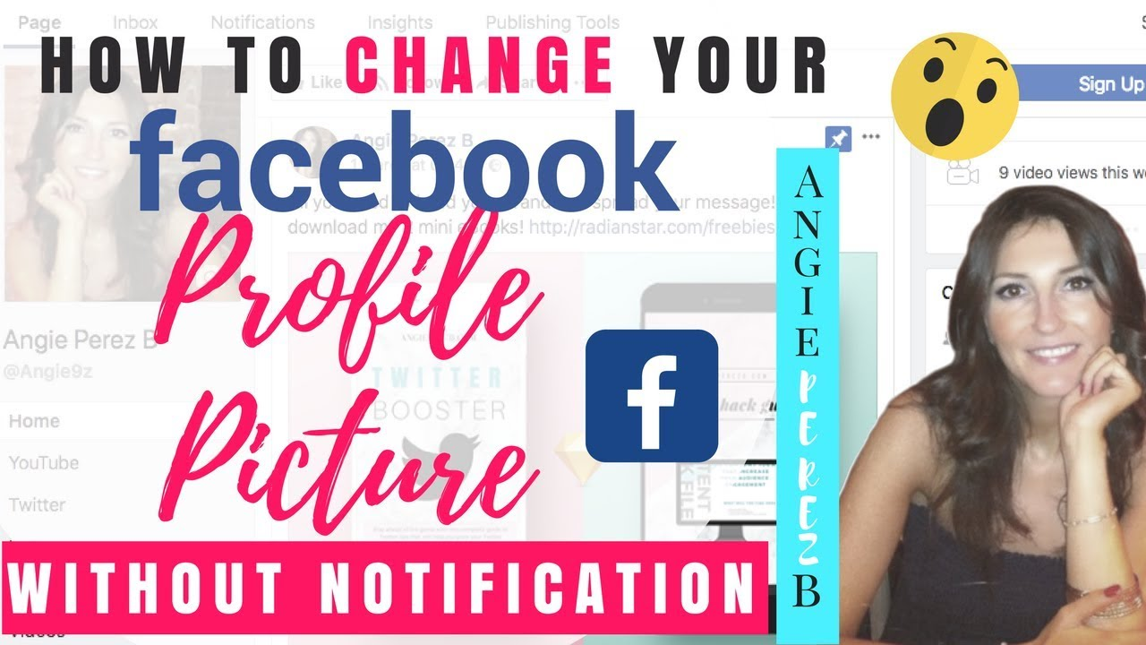 Change FB Profile Picture Without Notifying Anyone