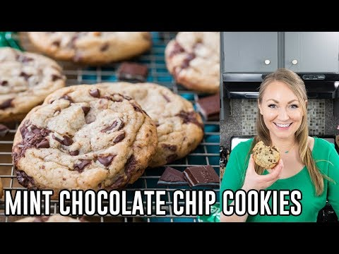 How To Make Mint Chocolate Chip Cookies