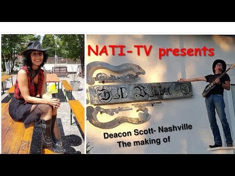 "NATI-TV: Deacon Scott- ""Nashville""- The making of"