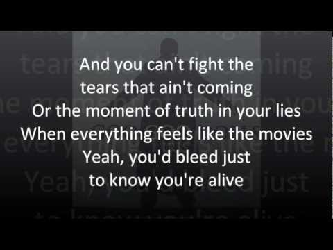 Goo Goo Dolls - Iris (lyrics)