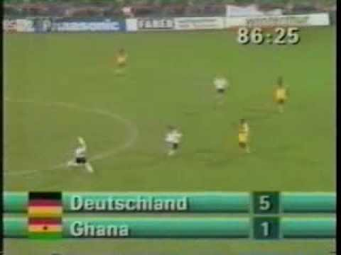 Germany v Ghana 14th APR 1993