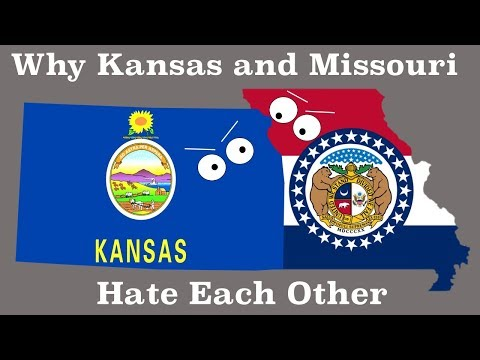 Why Kansas Hates Missouri | State Rivalries