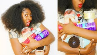 Natural Hair Products my TYPE 4 NATURAL HAIR can't live without 😳😩 // LISTEN UP TYPE 4 NATURALS👀👂