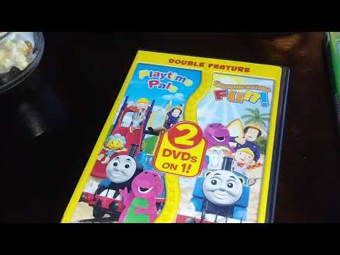 Hit favorites double feature summertime fun and playtime pals dvd Unboxing Amazon