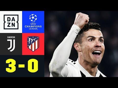Dreifacher Cristiano Ronaldo rettet Juve: Juventus - Atletico Madrid 3:0   Champions League   DAZN