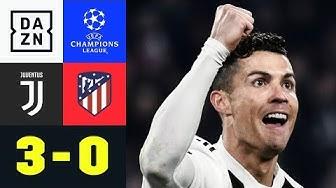 Dreifacher Cristiano Ronaldo rettet Juve: Juventus - Atletico Madrid 3:0 | Champions League | DAZN