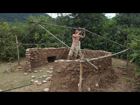 Primitive Technology: Stone House Part 11