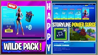 *NEW* Fortnite: WILDE Starter Pack Release, Power Surge Soon, Fake Live Streams, & Baller Flying Bug