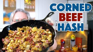 How To Make Corned Beef Hash Recipe || Glen & Friends Cooking