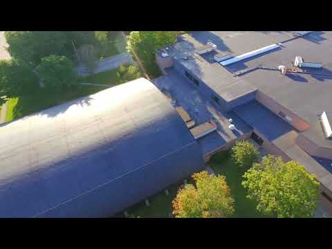 Mt Ararat High School from Drone (Topsham Maine)