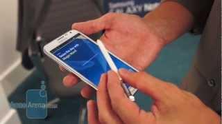 Samsung Galaxy Note II S-Pen Demonstration