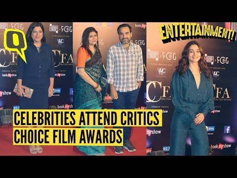 Stars Get Candid On The Red Carpet At Critics Choice Film Awards | The Quint
