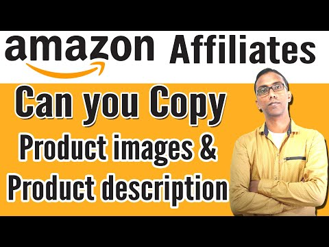 Can You Copy Amazon Product Images And Description On Your Website