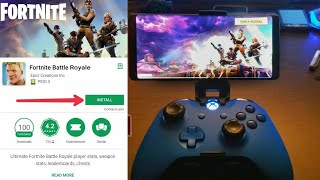 Fortnite mobile 100% Android mobile device for cloud process