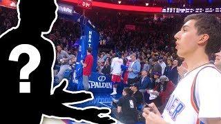 MY FAVORITE NBA PLAYER CURSED AT ME!!