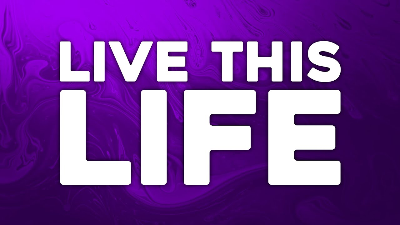 Alone. & J-Sharp - Live This Life (Official Lyric Video)