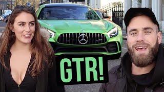 SHE GOT AN AMG GTR!