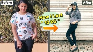 How I Lost 10 KG | What I Eat In A Day To Lose Weight Indian ( 10kgs weight loss diet plan )