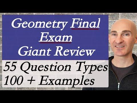 Geometry Final Exam Review