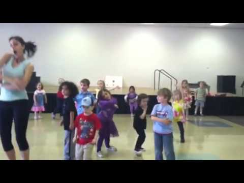 Coop in Hip Hop class at Spectrum Progressive School.