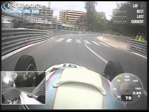 HGPCA Grand Prix de Pau Historique 12.5.2013 Pau Race Circuit onboard with Jonathan Hughes