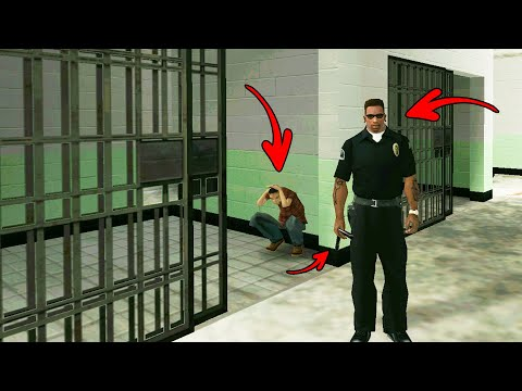 Real Police Officer in GTA San Andreas! (Playing as a Cop)