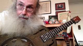 Ramblin Blues Lesson In Open G