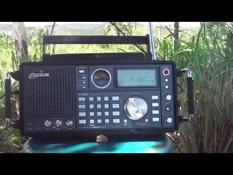 12160 kHz  TWR - Trans World  Radio via TX Shortwave Tashkent / Uzbekistan