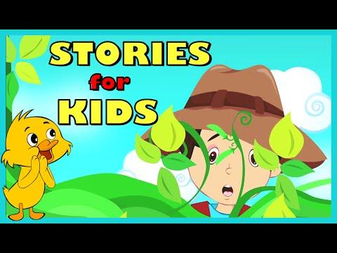 SHORT STORY for CHILDREN (15 Moral Stories) | Jack and Beanstalk, Rapunzel