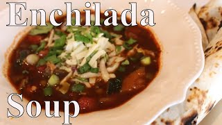 Home canned Chicken Enchilada Soup Pantry Challenge With Linda's Pantry