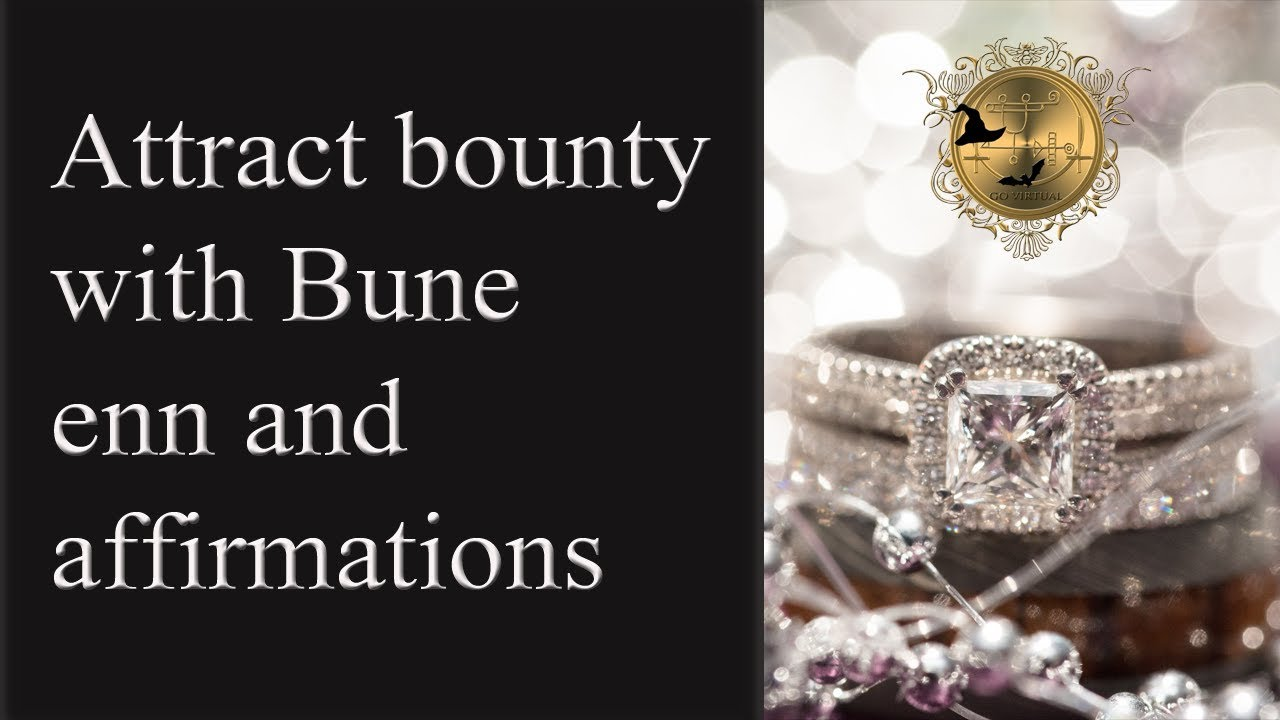 Meditation with count down  Affirmations for abundance with Bune enn  See  money spells below!
