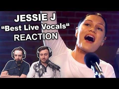 """Jessie J's Best Live Vocals"" Reaction"