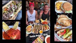 We ate 9,000 calories of food at Portillo's (downtown Chicago)