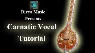 Carnatic Vocal Lessons Online Guru for beginners Indian Carnatic singing instructors Online Teachers