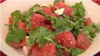 From Garden To Table : Watermelon, Feta & Arugula Salad