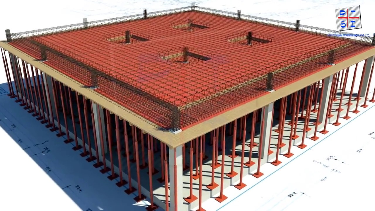 Proceso constructivo de losa de concreto postensado youtube - Losas de hormigon para jardines ...