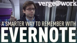 Backing up your brain with Evernote - The Verge at Work