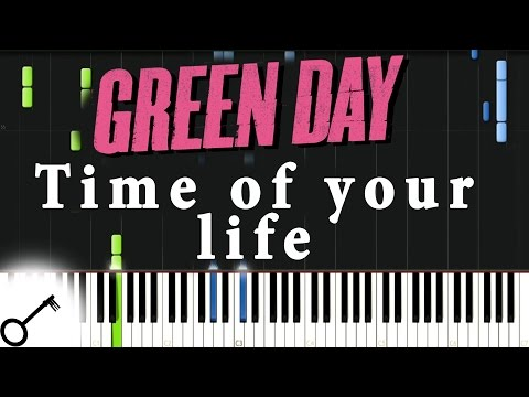 Green Day - Time of your life [Piano Tutorial] Synthesia   passkeypiano