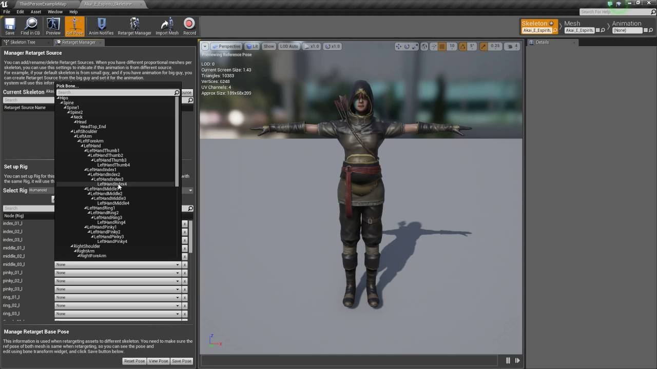 Unreal Engine 4 - Mixamo to Unreal Engine 4 - FBX Import