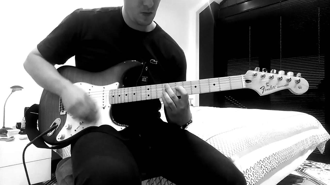 Guitar Chord Progression In Bm5 B Minor Sharp 5 Youtube