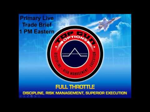 2019 02 26 13 00 Primary Live Trade Brief