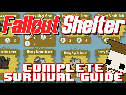 Fallout Shelter: The Completed Survival Guide (Weapons And Outfits)