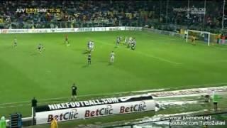 Claudio Zuliani - PUNIZIONE di ALEX DEL PIERO in Juventus-Shamrock Rovers 1-0 - 05/08/2010