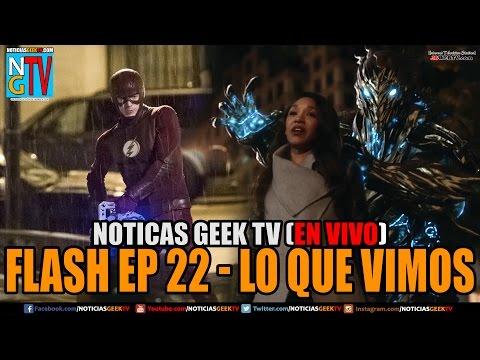 Flash Episodio 22 lo que vimos ¿Murio Iris? | Noticias Geek En VIVO