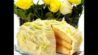 Изысканная выпечка-Лимонный торт
