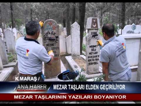 Mezar Taşlari Elden Geçiriliyor Youtube