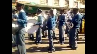 Zimbabwe police band