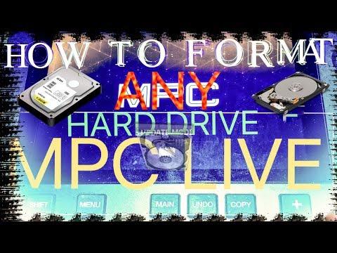 MPC LIVE AND MPC X SATA DRIVE FORMAT AND ACCESS | NO MORE ERRORS 💾 💻